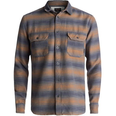 Flannel - Quiksilver Dusky Town Flannel Long Sleeve Over Shirt