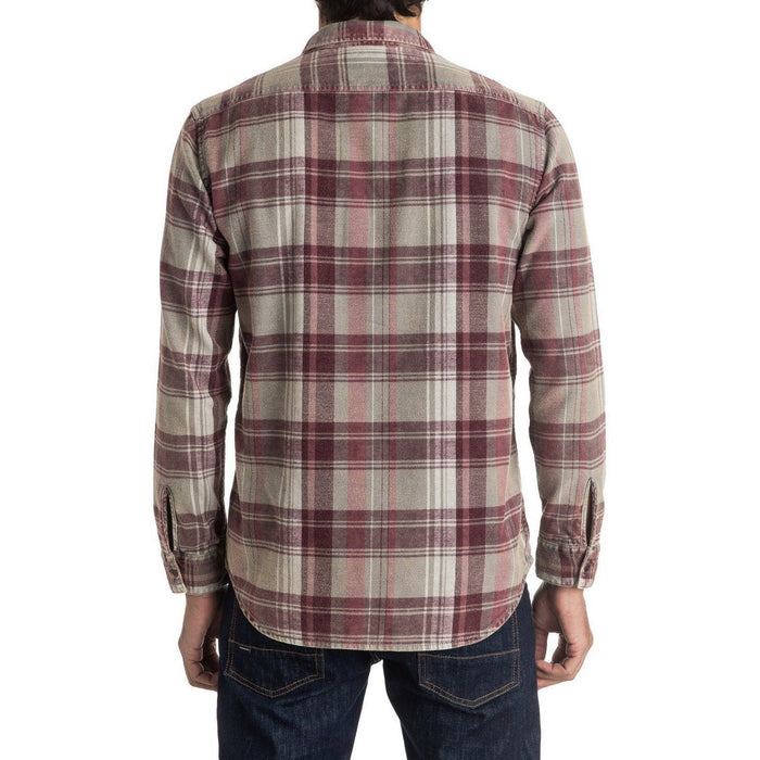 Flannel - Quiksilver Happy Long Sleeve Flannel Shirt