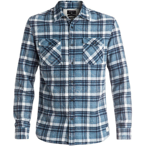 Flannel - Quiksilver Lost Wave Men's Blue Flannel