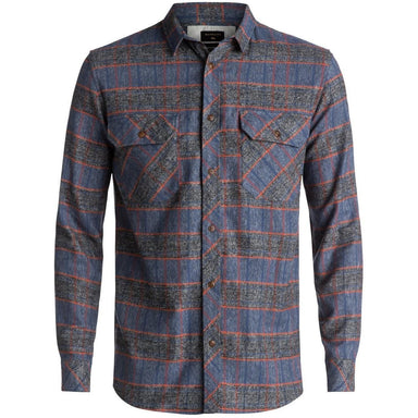 Quiksilver River Back Flannel Long Sleeve Shirt - 88 Gear