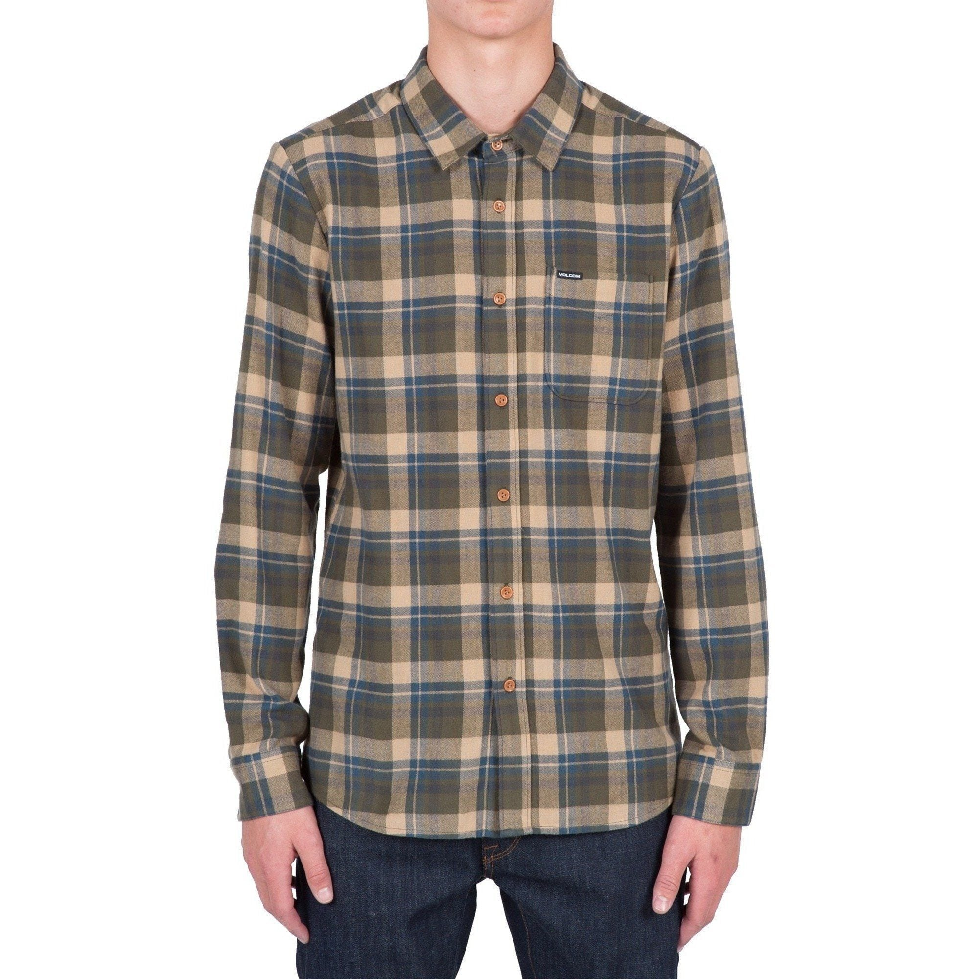 Volcom Hewitt Long Sleeve Flannel - 88 Gear