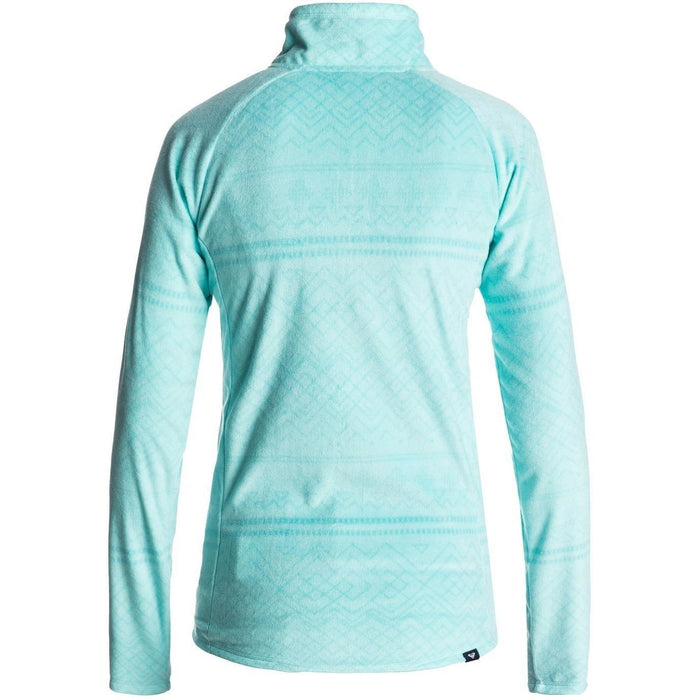 Fleece - Roxy Cascade Half Zip Polar Fleece - ARUBA BLUE