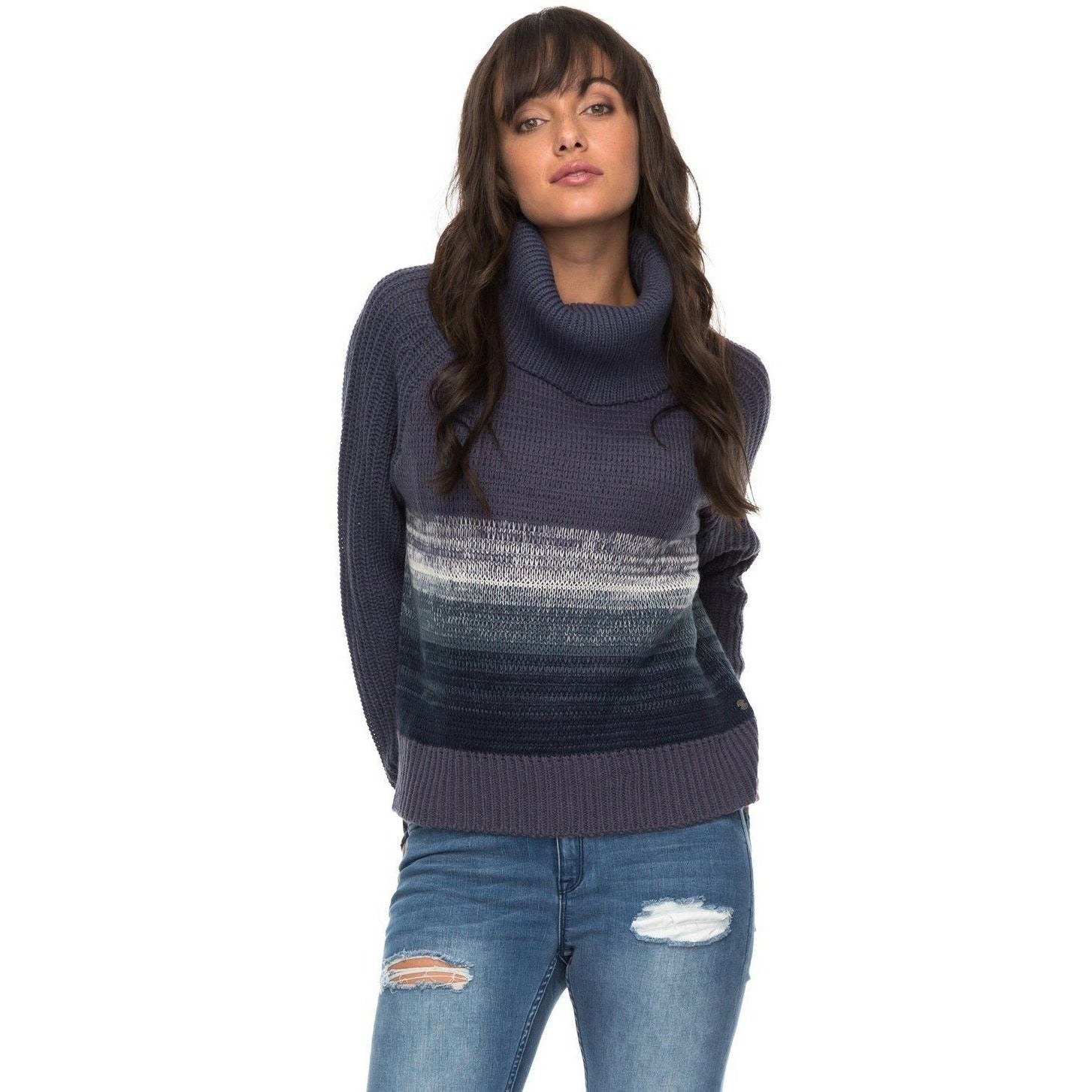 Roxy Morning Sun - Women's Turtleneck Sweatshirt - 88 Gear