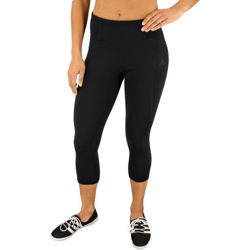 Gym Pants - Adidas High Rise 3/4 Tight Pant