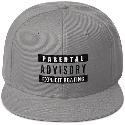 Hat - Explicit Boating Snapback Hat