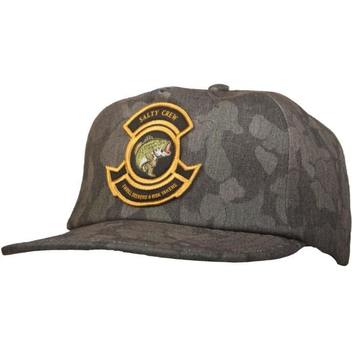 Hat - Salty Crew Bass Bunker Snap Back Hat