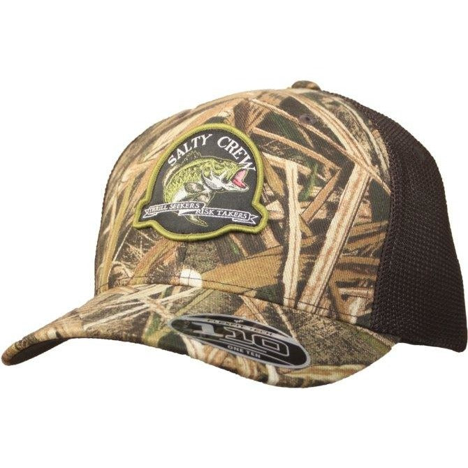 Hat - Salty Crew Large Mouth Trucker Hat
