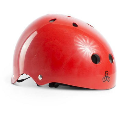 Liquid Force Drop Triple Eight Helmet - Red - 88 Gear