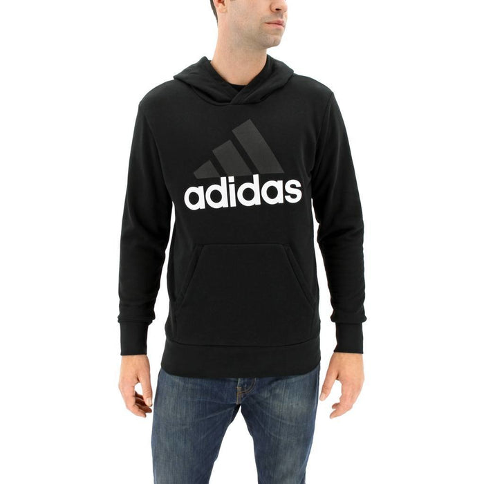 Adidas Essential Linear Pullover- Black - 88 Gear