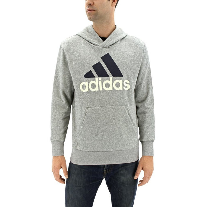 Hoodie - Adidas Essential Linear Pullover- Grey