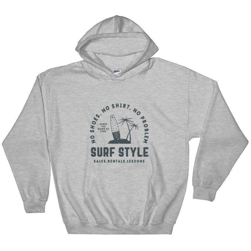 Surf Style Hooded Sweatshirt - 88 Gear