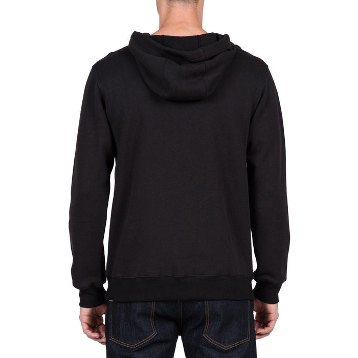 Hoodie - Volcom Single Stone Pullover Black