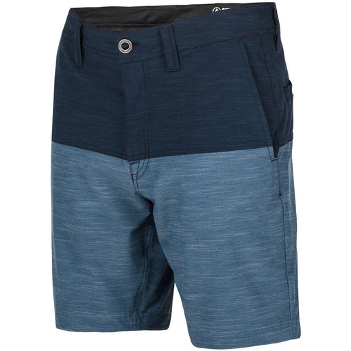 Hybrid Shorts - Volcom Surf N' Turf Block Hybrid Shorts - Navy