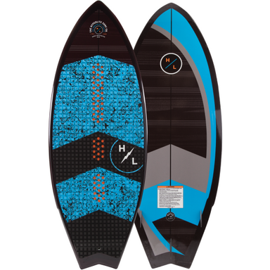 Hyperlite Brodcast Wakesurf Board 2019 - 88 Gear
