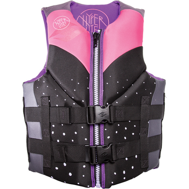 Hyperlite Women's Indy Life Jacket Pink - 88 Gear