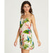 Billabong Night Twist Swing Mini Dress - 88 Gear