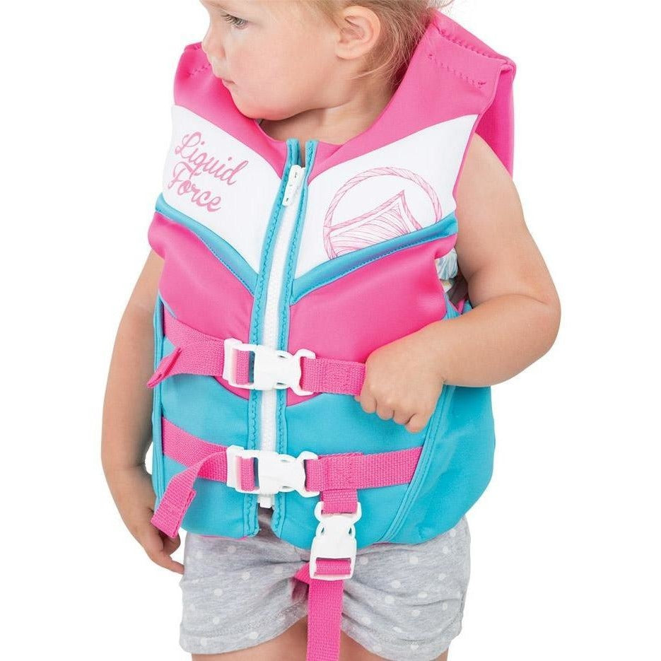 Liquid Force Dream Child Life Vest - Pink - 88 Gear