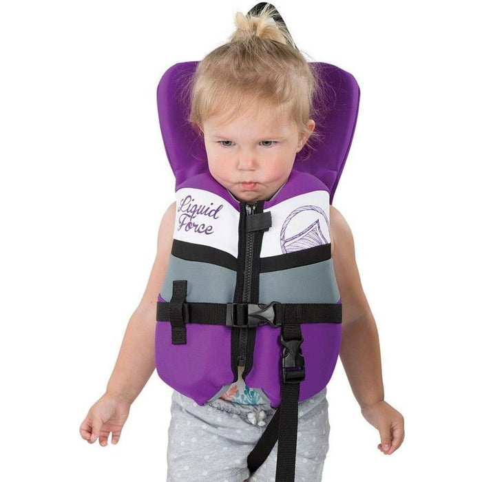 Life Vest - Liquid Force Dream Infant Life Vest - Purple