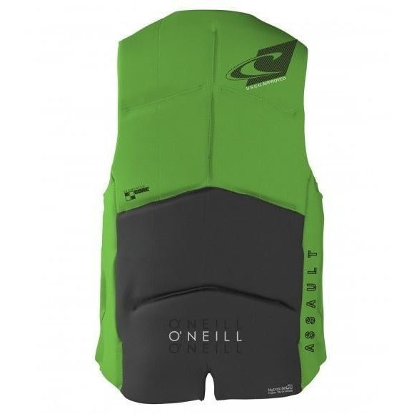 Life Vest - O'Neill Coast Guard Approved Assault Life Vest - Graphite / Glo