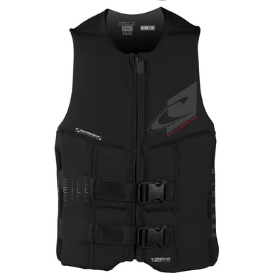 O'Neill Coast Guard Approved Black Assault Life Vest - 88 Gear