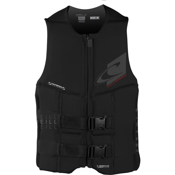 Life Vest - O'Neill Coast Guard Approved Black Assault Life Vest