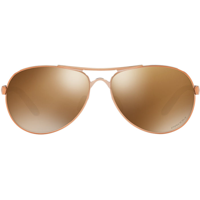 Oakley Feedback Rose Gold Women's Sunglasses