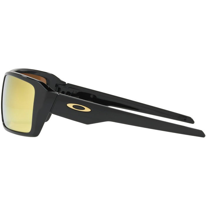 Oakley Double Edge Gloss Black Sunglasses - 88 Gear