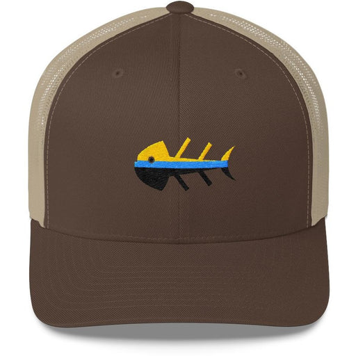 Fish Dinner Trucker Cap - 88 Gear