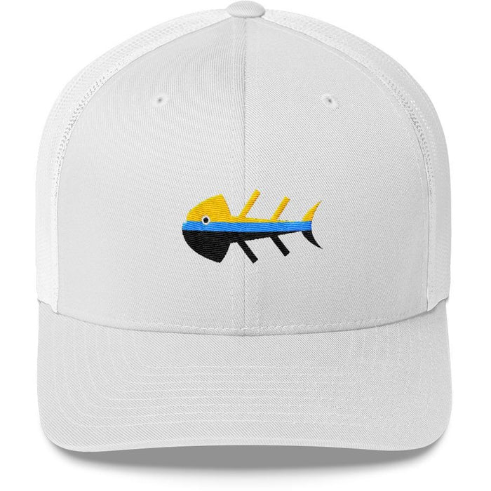 Fish Dinner Trucker Cap
