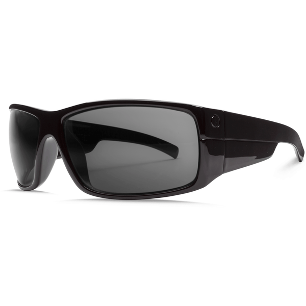 Electric Mudslinger-Gloss Black with Grey Lens