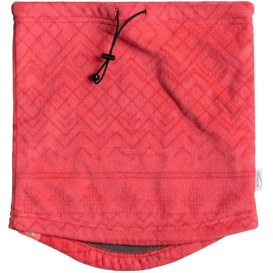 Neck Collar - Roxy Girls Cascade Neck Warmer -NEON GRAPEFRUIT