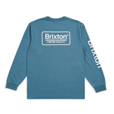 Brixton Palmer Long Sleeve Shirt - 88 Gear