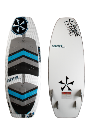 Phase Five Phantom Surf Style Wakesurf Board