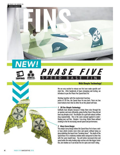 Phase Five 3D Speed Base Fins - 88 Gear