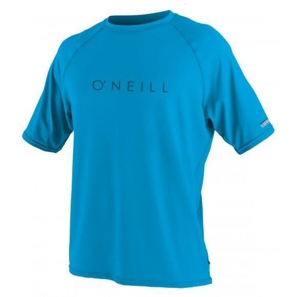 Rash Guard - O'Neill 24-7 Tech Crew UV Shirt - Sky Blue