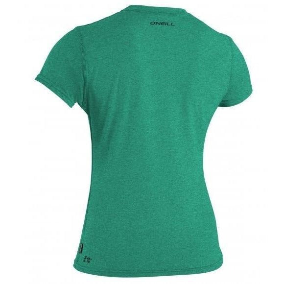 O'Neill Women's 24-7 Hybrid UV Short Sleeve Tee - 88 Gear