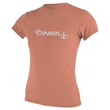 O'Neill Women's Basic Skins Rash Tee - 88 Gear