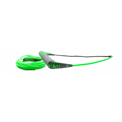 Rope And Handle - Hyperlite Team Wakeboard Handle And X Line Green