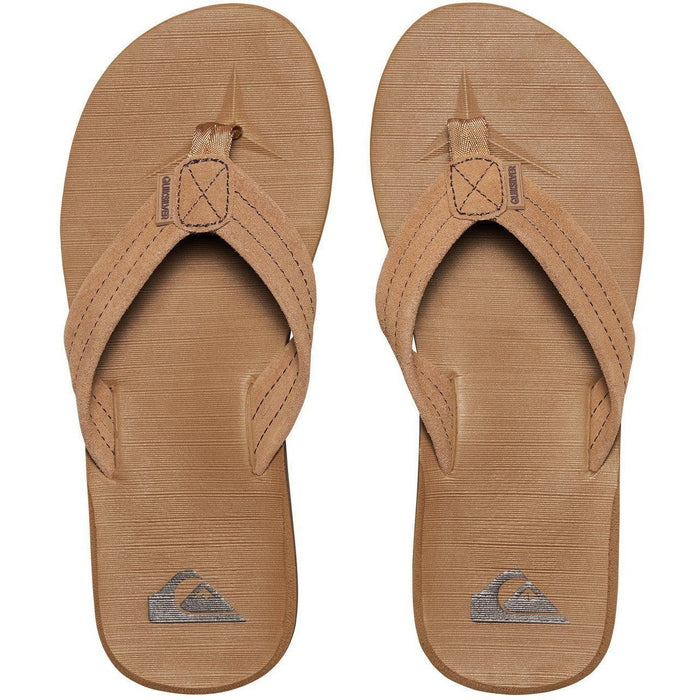 Sandal - Quiksilver Carver Suede Men's Sandals 2017