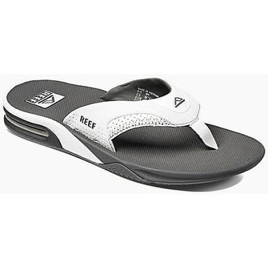 Sandal - Reef Fanning Men's Sandals - Grey -White