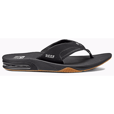 Reef Fanning Sandals Black - 88 Gear