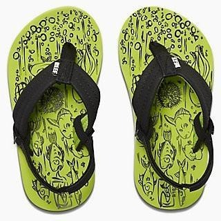 Reef Grom Footprints Kid's Sandals - 88 Gear