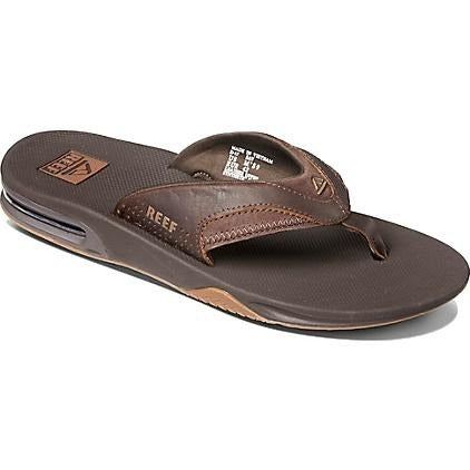 Reef Leather Fanning Sandals - 88 Gear