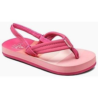 Reef Little AHI Girls Sandals - Pink Stipes - 88 Gear