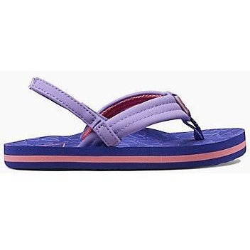 Sandal - Reef Little AHI Girls Sandals - Purple Hearts