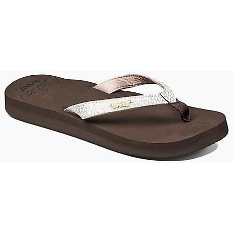 Sandal - REEF Star Cushion Sassy Women's Sandals - Brown