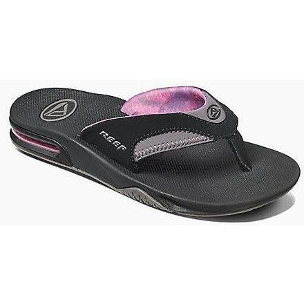 41ad4b8477ce Sandal - Reef Women s Fanning Black And Grey Sandal