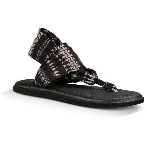 Sandal - SANUK YOGA SLING 2 PRINTS - Women's Sandals Natural KOA Tribal