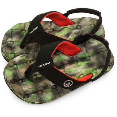 Volcom Boys 2-7 Recliner Sandals - Camo - 88 Gear