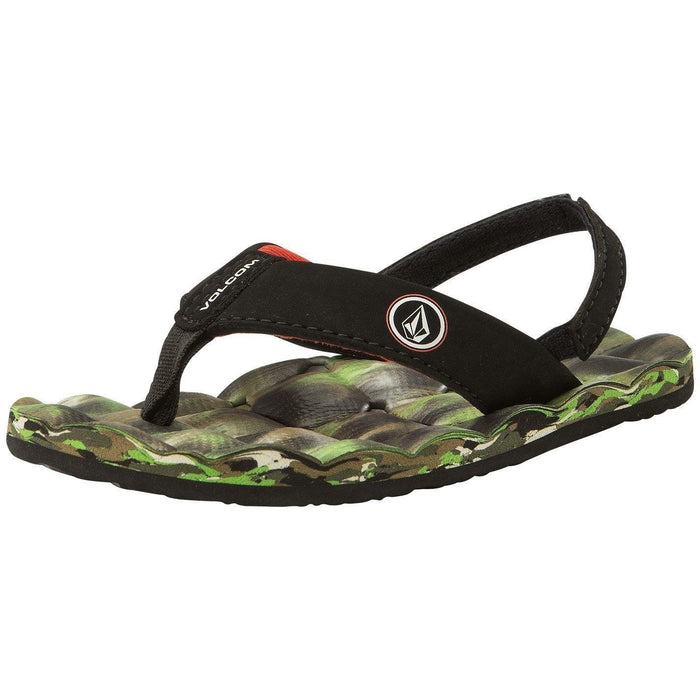 Sandal - Volcom Boys 2-7 Recliner Sandals - Camo